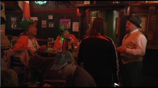 Minot Celebrates Saint Patrick's Day at Ebeneezer's