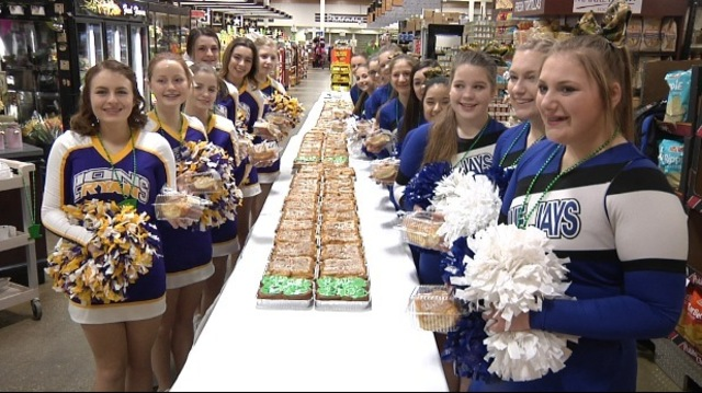 Marketplace Welcomes Class B Tournament With 50 Foot Caramel Roll