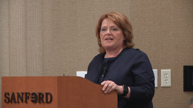 Heidi Heitkamp Hosts Healthcare Forum