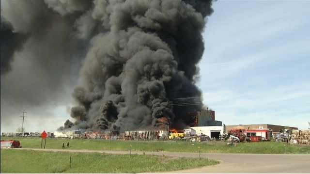 Northwest Minot Fire