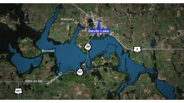 No Areas of Sheen or Diesel Fuel on Devils Lake After Spill