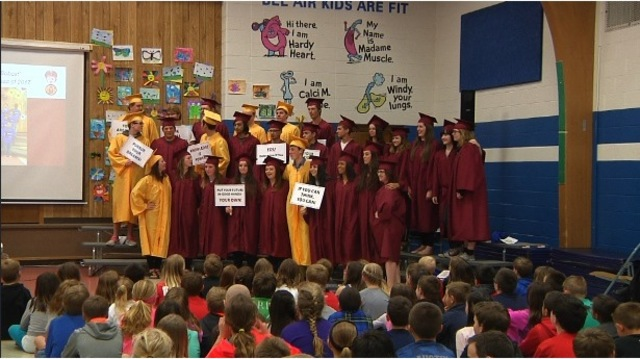 Bel Air Elementary School Says Goodbye To Their Seniors