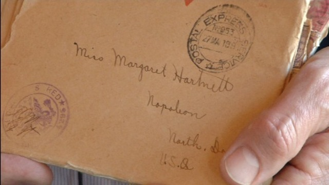 Soldiers Wartime Letters Donated