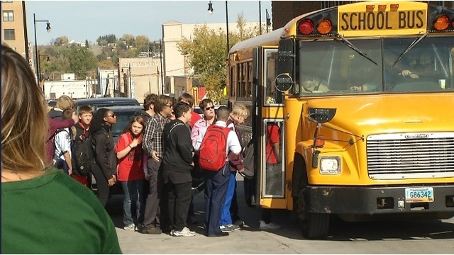 Students & Parents React To Central Campus Bomb Threat