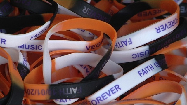Wristbands Support Vegas Victims