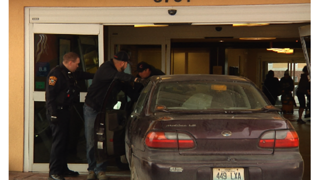 Man Allegedly Crashes Car Through Hotel Because of Relationship Troubles
