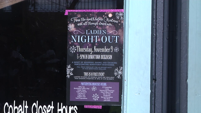 Downtown Dickinson prepares for annual event