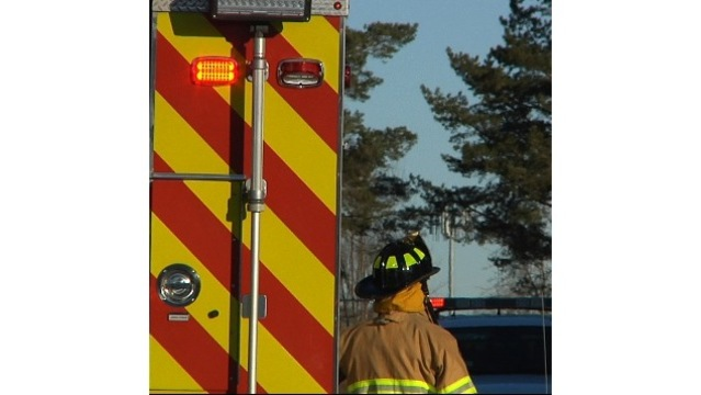 Apartment Fire In Minot