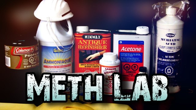 Mobile meth lab found behind South Central High School