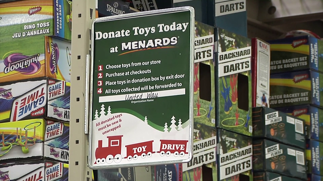 Toy drive starts in Dickinson