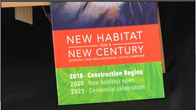 Local zoo plans set date to break ground on renovations