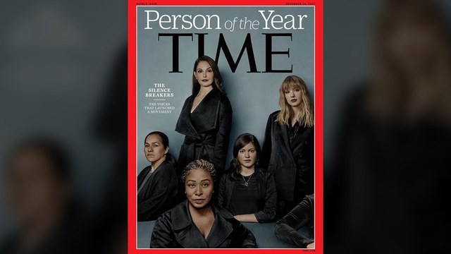 Time Magazine's person of the year goes to