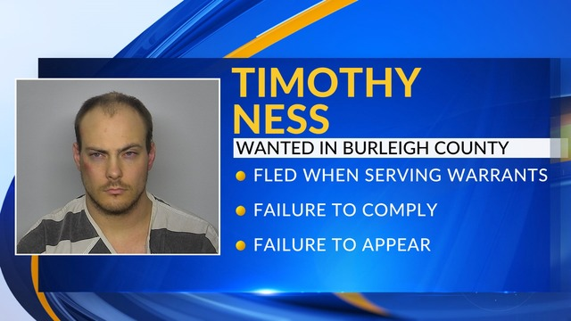 Wanted Wednesday: Timothy Ness