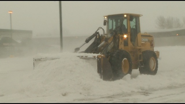 Commercial Snow Removal Crews Get No Rest