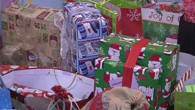 angel tree gives gifts to hundreds of less fortunate students in community