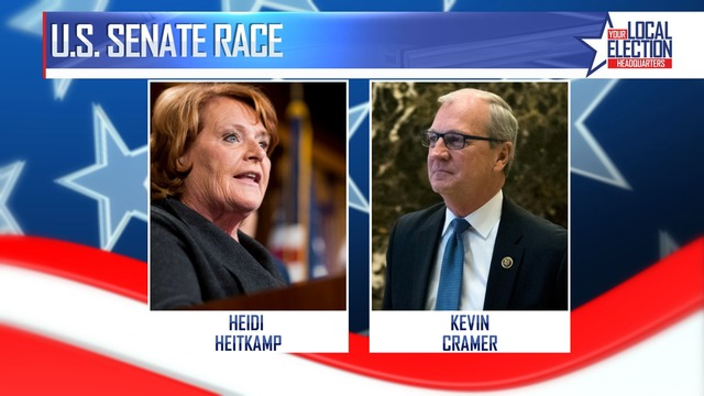 Campaign finances growing for Heitkamp and Cramer