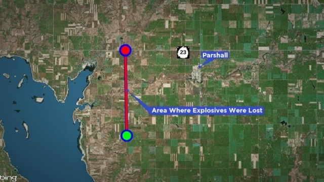 Air Force Searching For Lost Explosives Near Parshall