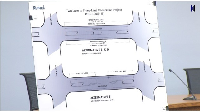 2 to 3 Lane Conversion Project in Bismarck