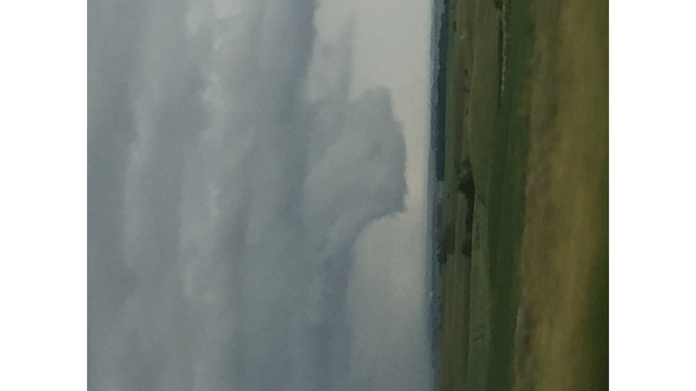 Laura Savelkoul -- 'Storm clouds South of Minot'