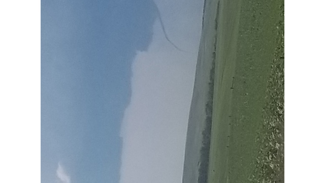 Steve Isaak -- 'This was taken south of Beulah ND but it had touched down in Golden Valley ND'