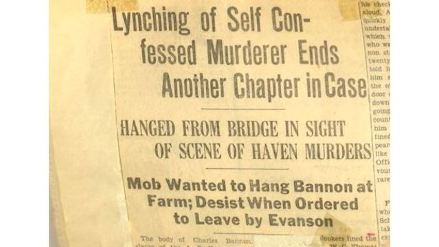 Story of Nearly Century Old Crime Passed Down Through Generations