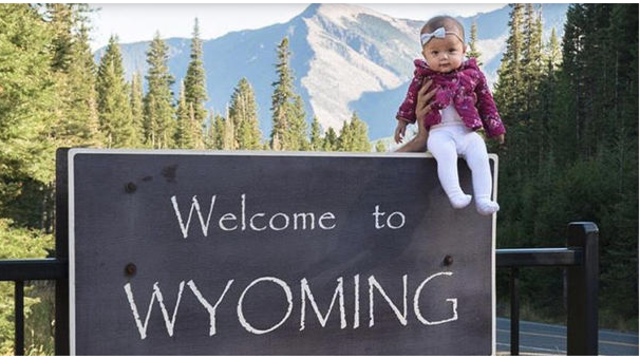 Baby will become youngest person to visit all 50 states