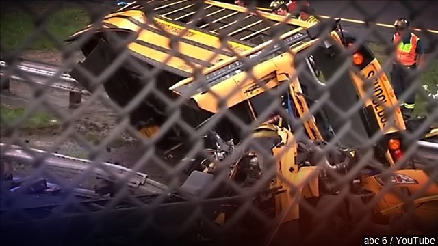 Deadly school bus stop crashes linked to distracted driving