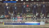 Dickinson State men's hoops drop exhibition at NDSU