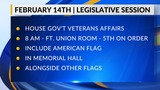 Thursday at the Capitol: Getting the American Flag in Memorial Hall