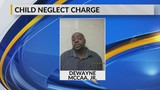 Dickinson man arrested for neglecting kids