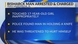 Bismarck Man Arrested for Sexually Assaulting 17-year-old