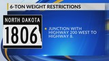 New Load Restrictions Go Into Effect Thursday Morning