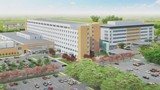 Information on the Trinity Hospital construction site