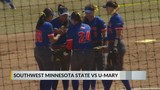 College Softball: U-Mary splits doubleheader with Southwest Minnesota State