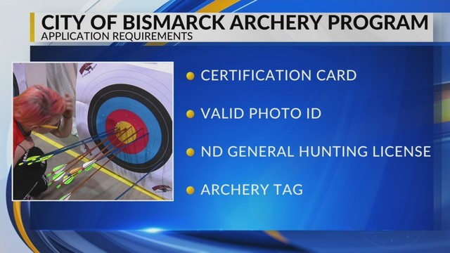 Test now required to take part in Bismarck Archery program